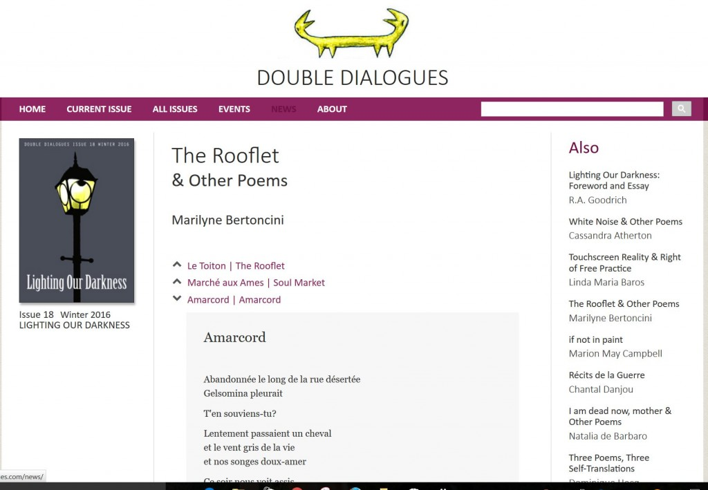 double dialogue