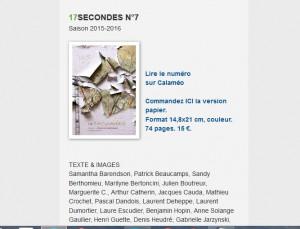 17 secondes n. 7