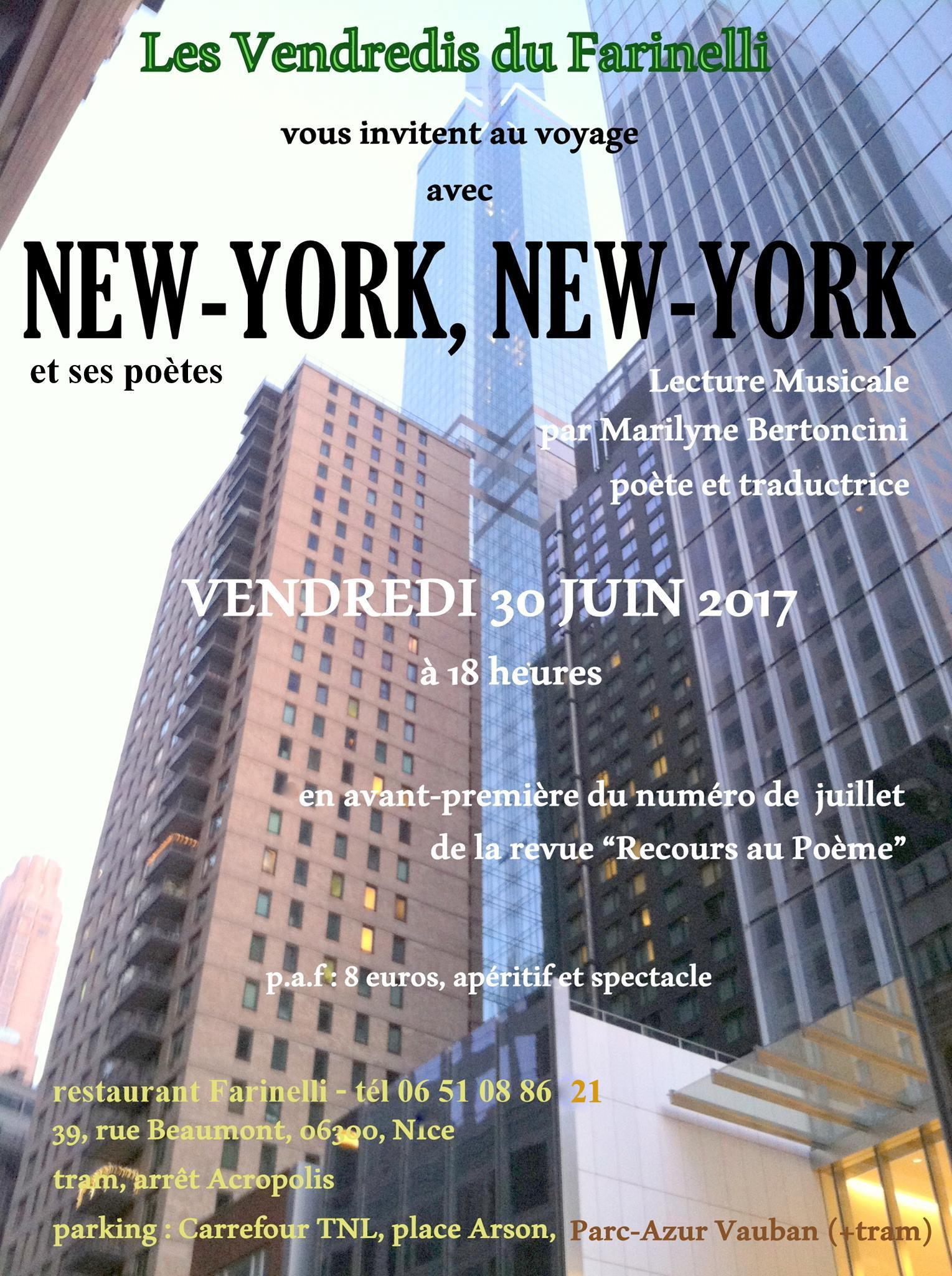 Jazz En Poésie New York New York Et Ses Poètes Minotaura